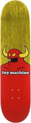 Toy Machine Monster 8.25 Skateboard Deck - yellow