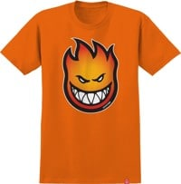 Spitfire Kids Bighead Fade Fill T-Shirt - orange/red-gold fade
