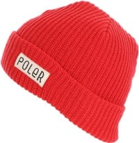 Poler Workerman Beanie - zissou red