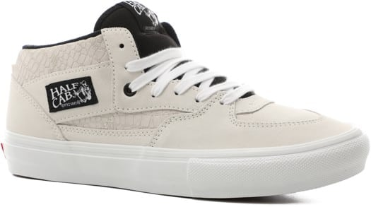 Vans Skate Half Cab Shoes - marshmallow/white - view large