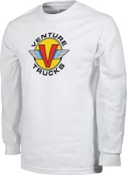 Venture Wings L/S T-Shirt - white