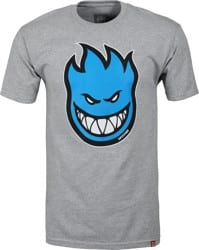 Spitfire Bighead Fill T-Shirt - athletic heather/blue