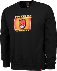Spitfire Spitfire Label Crew Sweatshirt - black/multi-color