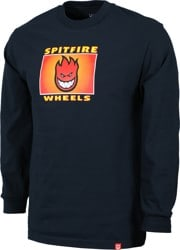 Spitfire Spitfire Label L/S T-Shirt - navy/multi-color