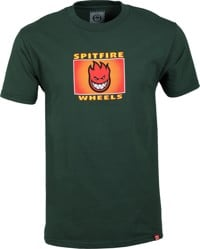Spitfire Spitfire Label T-Shirt - forest green/multi-color