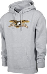 Anti-Hero Eagle Hoodie - grey heather