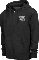 Anti-Hero Reserve Zip Hoodie - charcoal heather/grey