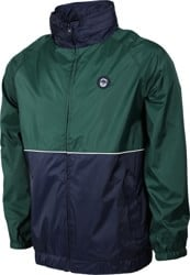 Spitfire Classic 87' Sleeve Hooded Windbreaker - dark green/navy