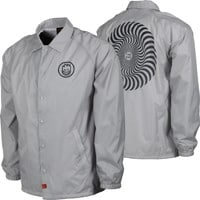 Spitfire Classic Swirl Coach Jacket - silver/navy