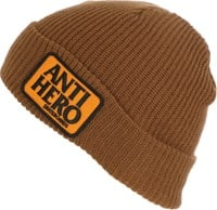 Anti-Hero Reserve Patch Beanie - brown/orange
