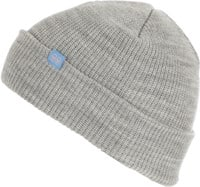 Krooked Eyes Clip Beanie - heather grey/blue/pink
