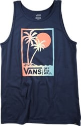 Vans Boxed Palms Tank - dress blues