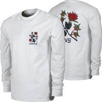 Vans Low Point Floral L/S T-Shirt - white