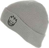 Spitfire Bighead Standard Cuff Beanie - light grey/black