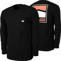 Vans Original DNA Sidestripe L/S T-Shirt - black