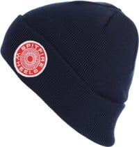 Spitfire Classic 87' Swirl Patch Beanie - navy/white/red