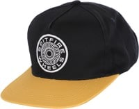 Spitfire Classic 87' Swirl Patch Snapback Hat - navy/yellow