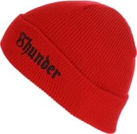 Thunder Evil Beanie - red/black