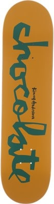 Chocolate Anderson Original Chunk 8.0 Skateboard Deck - tan/green - view large