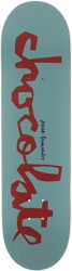 Chocolate Fernandez Original Chunk 8.25 Skateboard Deck - blue/red