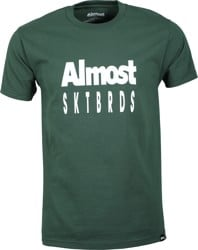 Almost Tailored T-Shirt - forest green