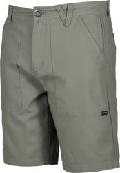 Volcom Clockworks Shorts - army green combo