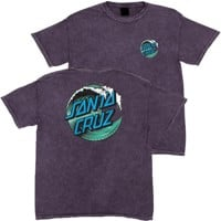 Santa Cruz Kids Wave Dot T-Shirt - mineral purple