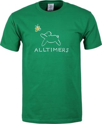 Alltimers Claire Pup T-Shirt - kelly green - view large