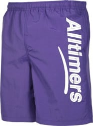 Alltimers Swim Boardshorts - purple