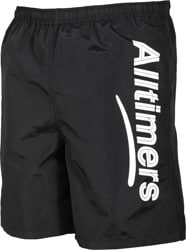 Alltimers Swim Boardshorts - black