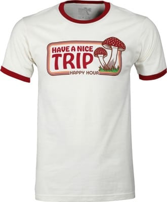 Happy Hour Have A Nice Trip T-Shirt - natural - view large
