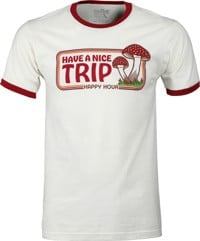 Happy Hour Have A Nice Trip T-Shirt - natural