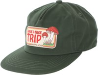 Happy Hour Have A Nice Trip Snapback Hat - green