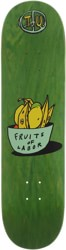 Transportation Unit Fruits Of Labor 8.25 Skateboard Deck - green