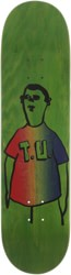 Transportation Unit Party Shirt 8.25 Skateboard Deck - green