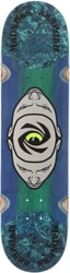 Madness Minds Eye 8.125 Slick Skateboard Deck - blue/green v1