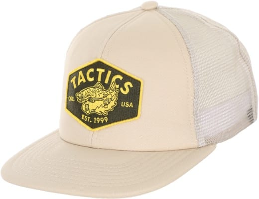Tactics Fish N Rips Trucker Hat - natural - view large