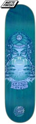 Santa Cruz Delfino Fortune Teller 8.25 Powerply Skateboard Deck - blue