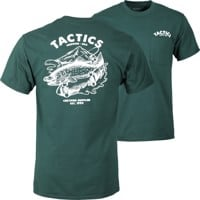 Tactics Fish N Rips Pocket T-Shirt - forest