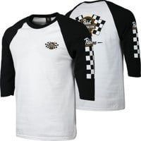 Loser Machine LMC X PBR Drink Team 3/4 Sleeve T-Shirt - white/black