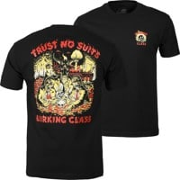 Lurking Class Trust No Suits X Stikker Hardcore T-Shirt - black