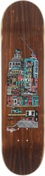 Traffic Community City Blocks 8.0 Skateboard Deck - brown