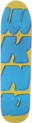 WKND Look Out 8.375 DB Shape Skateboard Deck - yellow