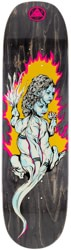 Welcome Komodo Queen 8.5 Moontrimmer 2.0 Shape Skateboard Deck - black stain