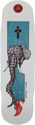 Welcome Vargas Tusk 8.8 Effigy Shape Skateboard Deck - blue