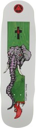 Welcome Vargas Tusk 8.8 Effigy Shape Skateboard Deck - green
