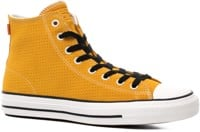 Converse Chuck Taylor All Star Pro High Skate Shoes - gold dart/white/black
