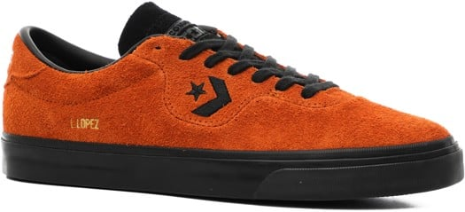 Converse Louie Lopez Pro Skate Shoes - amber sepia/black/black - view large