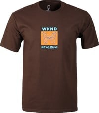 WKND Hot & Strong T-Shirt - brown