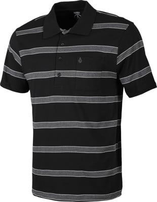 Volcom Koster Polo Shirt - black - view large